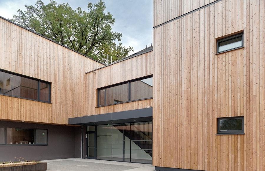 Architekt Schulgebäude