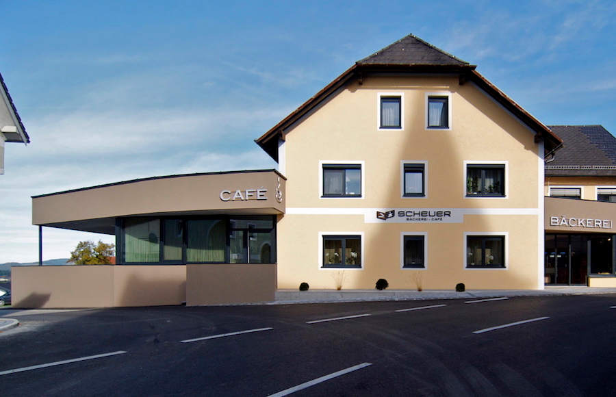 Architekt Umbau Café